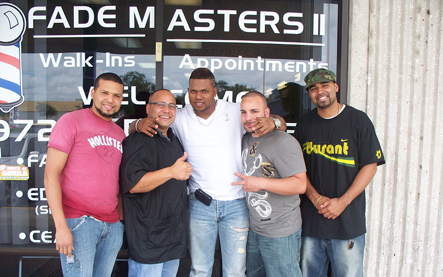 Fade Masters Celebrity Clients